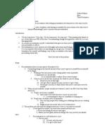 persuasive presentation outline