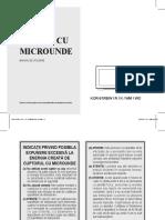 Manual Cuptor Cu Microunde Daewoo