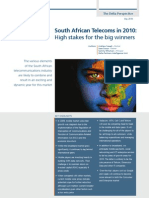 South African Telecoms in 2010