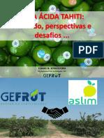 LIMA ÁCIDA TAHITI - Mercado, perspectivas e desafios