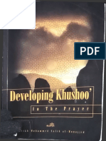 Developing Khushoo in the Prayer by Sheikh Muhammad Salih Al Munajjid