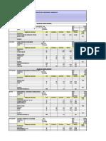 analisis de costos unitarios huachocolpa