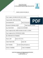 SEDFOR - Edital 76_2018 - Ficha de Inscrição