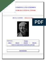 Catón, Marco Porcio - Dichos (latín-español)