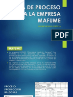 proceso productivo de la empresa MAFUME (1)