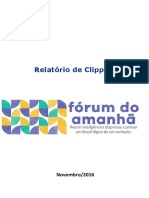 Clipping Fórum do Amanhã
