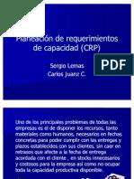 Planeación de requerimientos de capacidad (CRP)