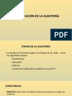SESION 2 - PLANIFICACION DE LA AUDITORIA
