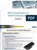 GPU Acceleration for ANSYS Mechanical