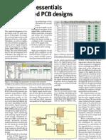 Understand Essentials in High-speed PCB Designs