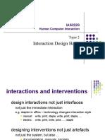HCI-2 Interaction Design Basic