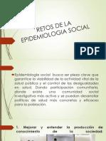 RETOS DE LA EPIDEMIOLOGIA SOCIAL