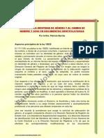 DERECHO A LA IDENTIDAD DE GENERO Y AL CAMBIO DE NOMBRE Y SEXO EN DOCUMENTOS IDENTIFICATORIOS.pdf