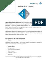 Ratio Analysis of Askari Bank Limited
