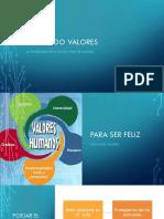 Formando en valores