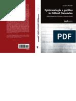 Andrea Bardin Epistemologia e Politica in Gilbert Simondon