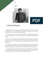 biografi soekarno bhs inggris