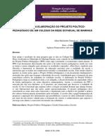 Artigo sobre elaboração de PPP