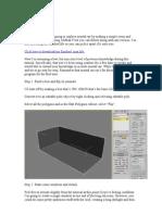 Tutoriale pentru incepatori in 3DS MAX