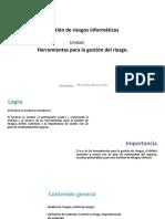 U2_Herramientas para la gestión del riesgo