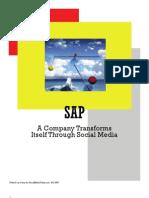 Social Media Case Study - SAP