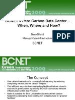 2009 Going Green Data Center Presentation