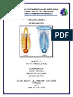 TERMODINAMICA (Termometria)
