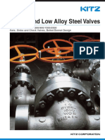 Carbon and Low Alloy Stel valves