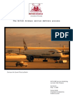 Service Blueprint Airline