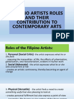 CAR National Artists in the Philippines July 29-August 2, 2019