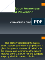 Air Pollution Awareness  and Prevention-oliveros