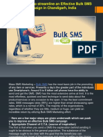 Major 8 Steps to Streamline an Effective Bulk SMS Campaign in Chandigarh, India