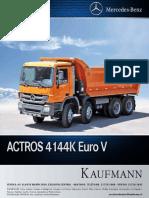 Camión Tolva Mercedes  benz actron 4144K.pdf