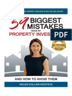59 Biggest Mistakes Made By Property Investors and How To Avoid Them - Helen Collier-Kogtevs
