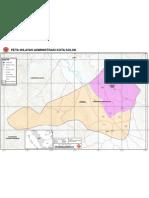 Peta Administrasi Kota Solok