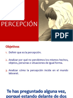 3 LA PERCEPCION Y LAS RELACIONES HUMANAS