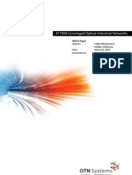 IP-TDM Converged Optical Industrial Networks_issue 1