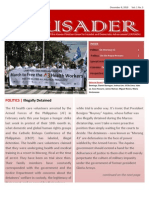 The Crusader - December 8, 2010 (Vol. 1, No. 3)