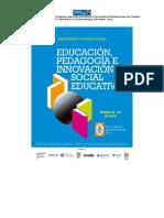 Memorias del Seminario internacional de educción Sanbuenaventura Arboleda J (2016)