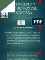 CONCEPTO Y PRINCIPIOS DEL CONTROL
