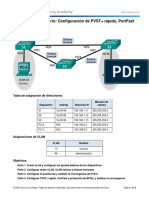 3.3.2.3 Lab - Configuring Rapid PVST+, PortFast, and BPDU Guard.docx