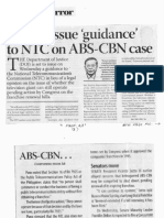 Business Mirror, Feb. 26, 2020, DOJ to issue guideance to NTC on ABS-CBN case.pdf