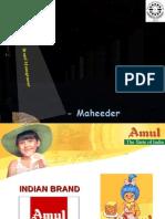 Brand Mangement Maheeder