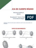 1-Cinematica Cuerpo Rigido - Rotación y Mov General 2019-B
