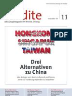 Honkong Singapur Taiwan - Drei Alternativen zu China