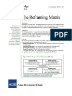 The Reframing Matrix