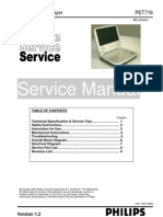 PHILIPS PET716 SERVICE MANUAL
