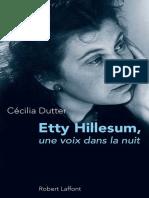 Cécilia Dutter - Etty Hillesum.epub
