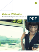LTE Systems Overview Brochure