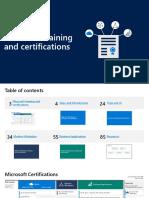 Azure Training + Certification Guide 020420